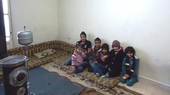 Syrian refugee children in Barilias in the Bekaa Plain (photo: DW/Moammar Atwi)