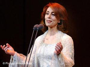 The Lebanese singer Fairuz (photo: dpa)