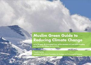 Cover of the IFEES's 'Muslim Green Guide to Reducing Climate Change' (source: IFEES)