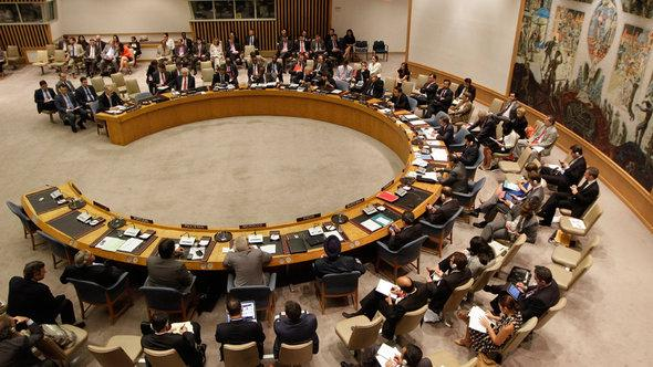 Session of the UN Security Council on Syria (photo: dapd)