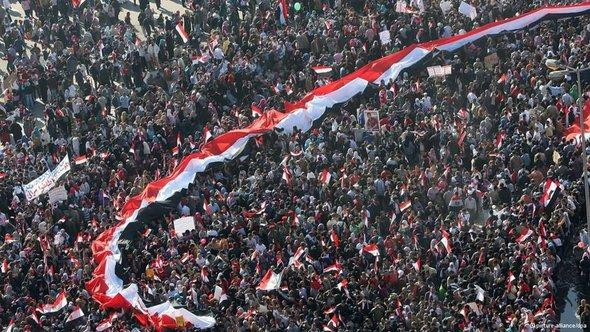 Protests in Egypt (photo: picture-alliance/dpa)