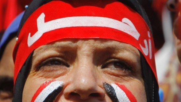 Anti-Morsi protestor in Cairo, Egypt (photo: AP)