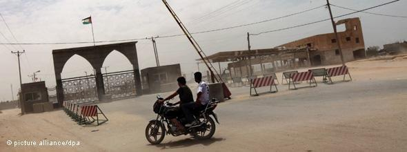 The Rafah border crossing in the South of Gaza (photo: picture-alliance/dpa)