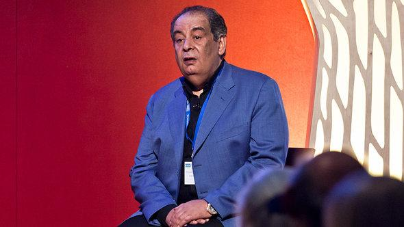 Youssef Ziedan at the Edinburgh Book Festival (photo: Edinburgh Book Festival/DW)
