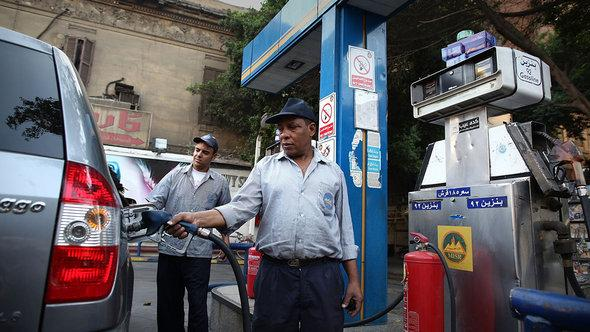 Petrol station in Cairo (photo: Getty Images)