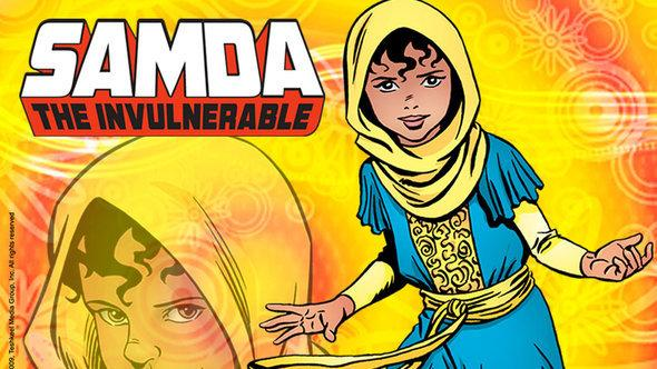 Samda the Invulnerable (image: Tashkeel Media Group)