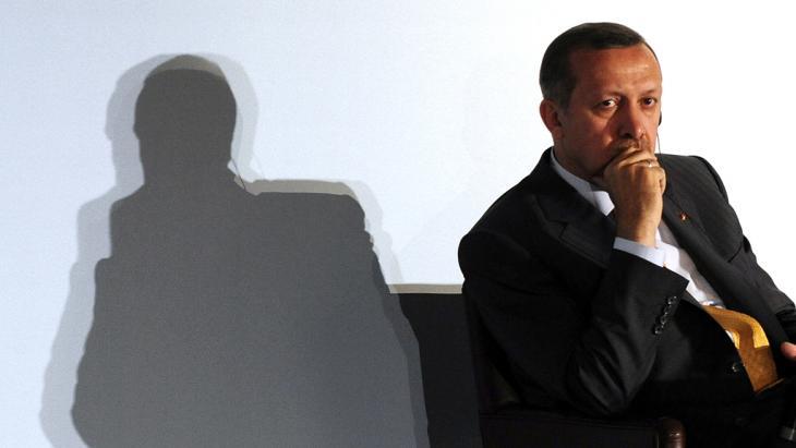 Turkey's prime minister Erdogan; Foto (photo: Dominique Faget/AFP/Getty Images)