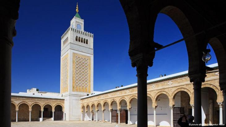 Al-Zaytuna Mosque in Tunis (photo: dpa)