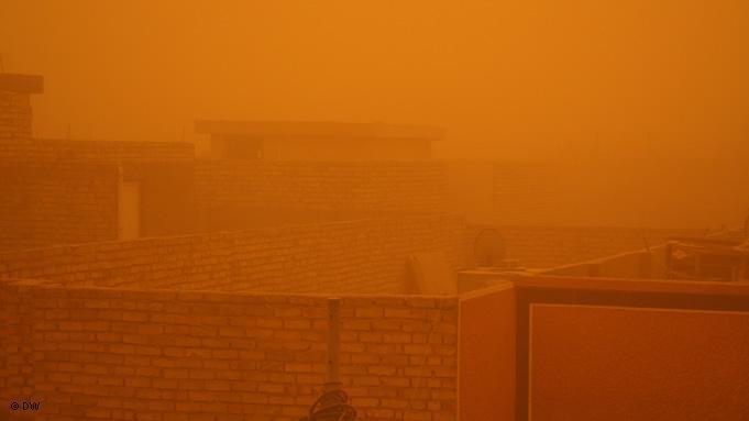 Sandstorm in Baghdad (photo: DW/Munaf Al-Saidy)