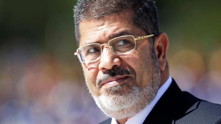 Egypt's imprisoned president Mohammed Morsi (photo: Reuters)