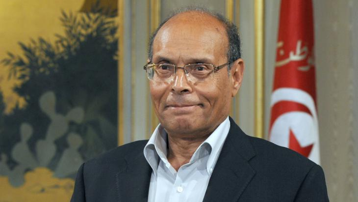 Tunisia's President Moncef Marzouki (photo: Fethi Belaid/AFP/Getty Images)