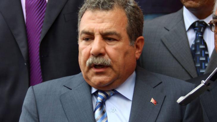 Turkey's Minister of the Interior Muammer Güler (photo: imago stock&people)