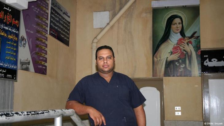 Dr Amir Samy (photo: DW/M. Symank)