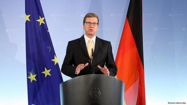 وزير الخارجية الألماني غيدو فيسترفيله. dpa