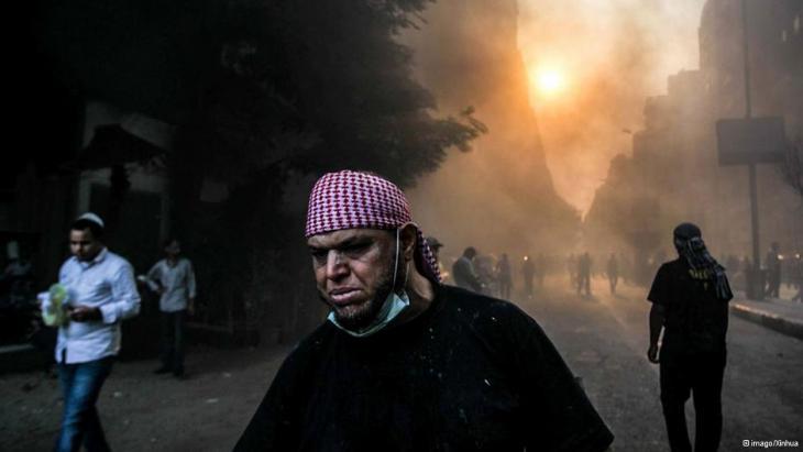Mursi-Anhänger demonstrieren in Kairo; Foto: imago/Xinhua