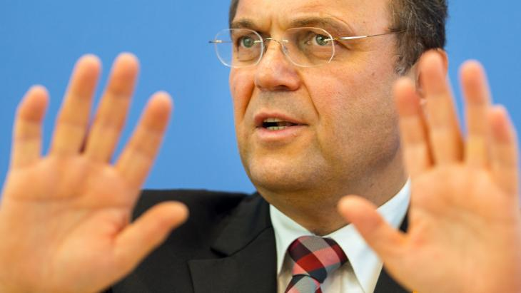 Germany's Interior Minister Friedrich (photo: dpa/picture-alliance)
