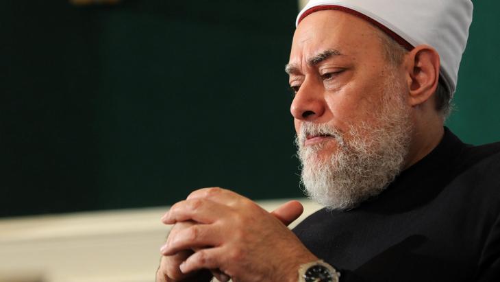 Former Grand Mufti of Egypt, Ali Gomaa (photo: picture-alliance/Landov)