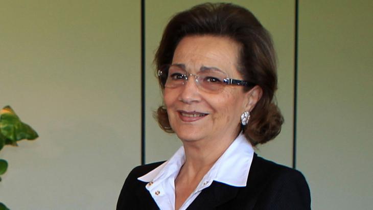 Egypt's fomer First Lady Suzanne Mubarak (photo: Khaled DesoukiAFP/Getty Images)