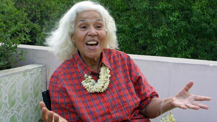 The Egyptian doctor, author, and women's rights activist Nawal Al-Saadawi (photo: Marwan Naamani/AFP/Getty Images)