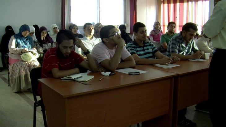 Scene from 'Istislam' (photo: Mona El-Naggar)