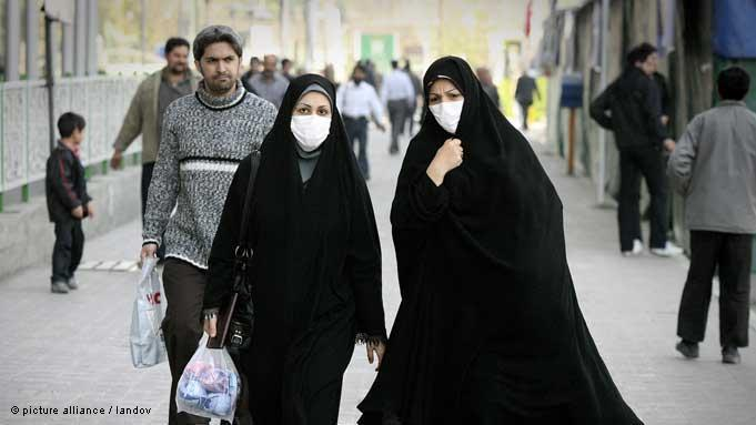 Iranian women in Teheran (photo: picture alliance / landov)