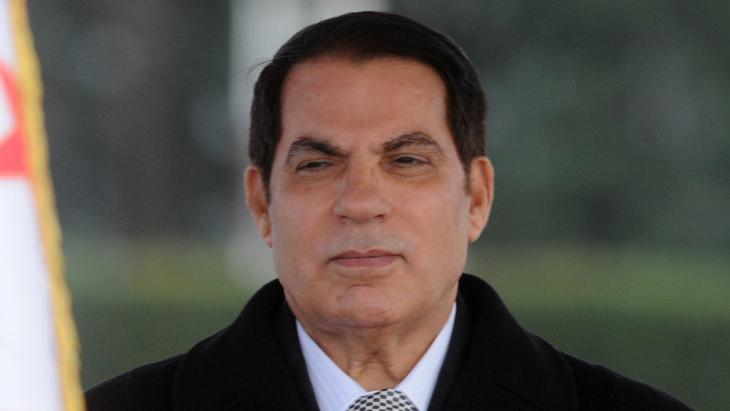 Tunisia's former dictator Zine El Abidine Ben Ali (photo: AP)