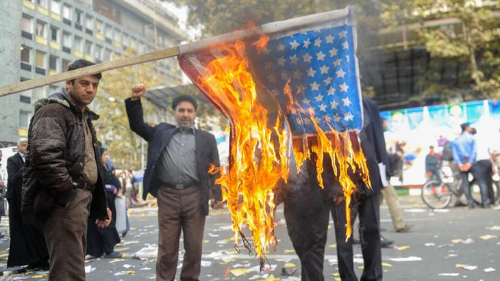 Anti-American demonstration on 4 November 2013 in central Tehran (photo: ISNA)