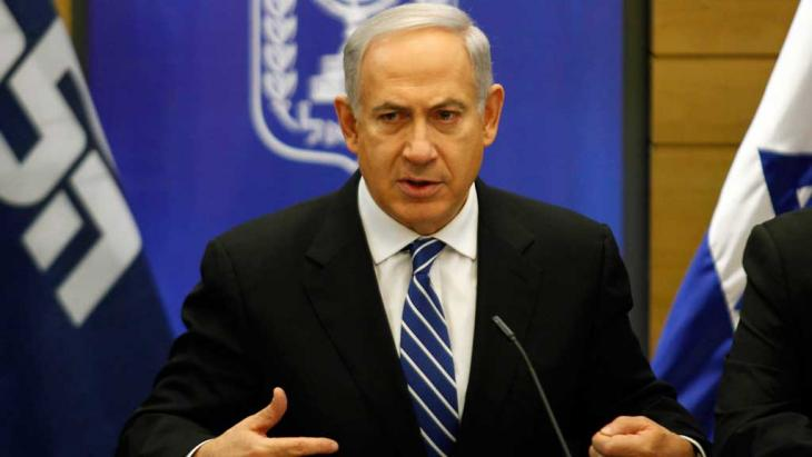 Israels Ministerpräsident Benjamin Netanjahu; Foto: AFP/Getty Images