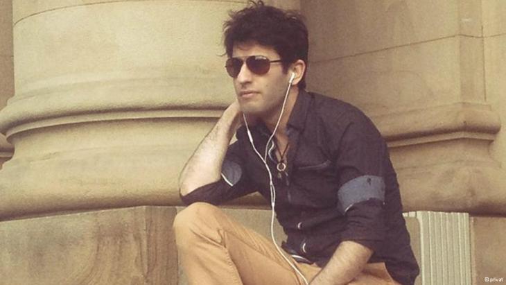 Der irakische Sänger Raid Yosif; Foto: privat