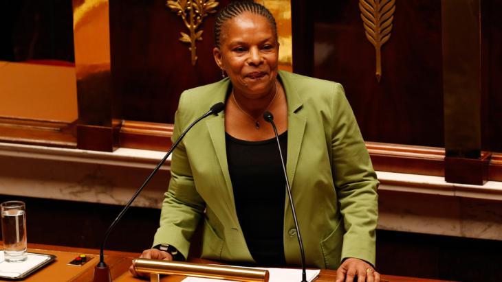Frankreichs Justizministerin Christiane Taubira; Foto: Reuters