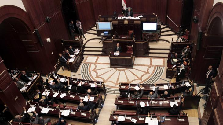 Egypt's constituent assembly approves the country's new constitution (photo: dpa/picture-alliance)