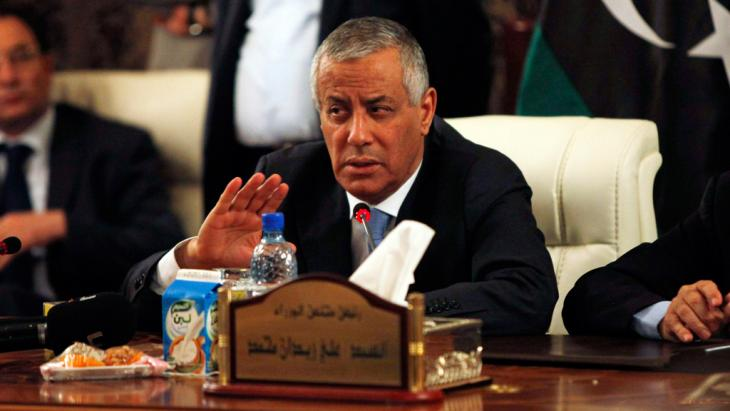 Libya's Prime Minister Ali Zeidan (photo: Reuters)