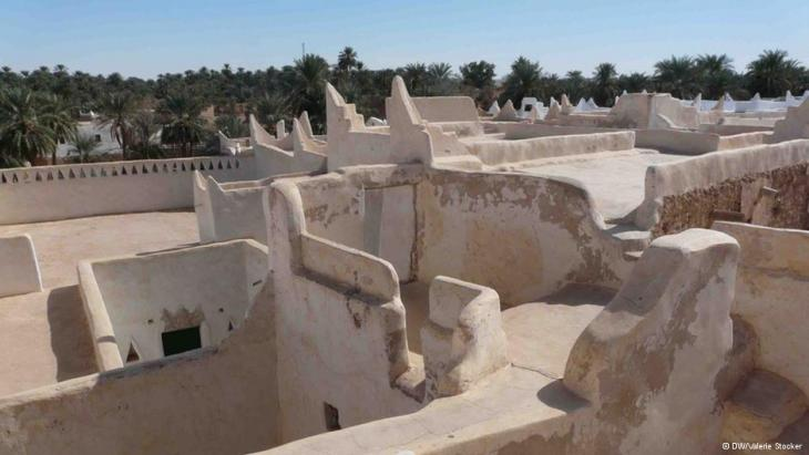 A view of Ghadames (photo: Valerie Stocker/DW)
