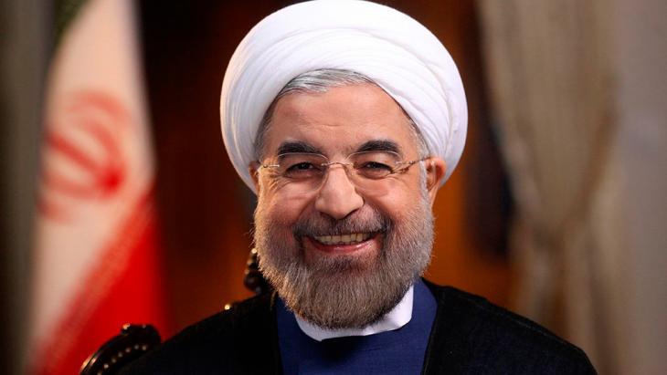 Irans Präsident Hassan Rohani; Foto: Reuters/President.ir