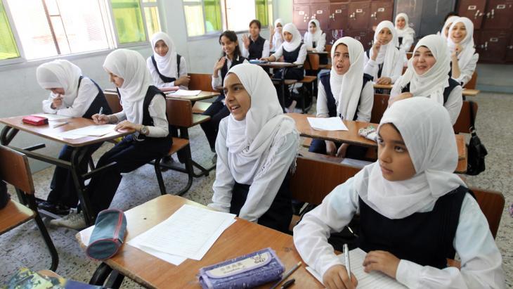 School class in Libya (photo: picture-alliance/dpa)