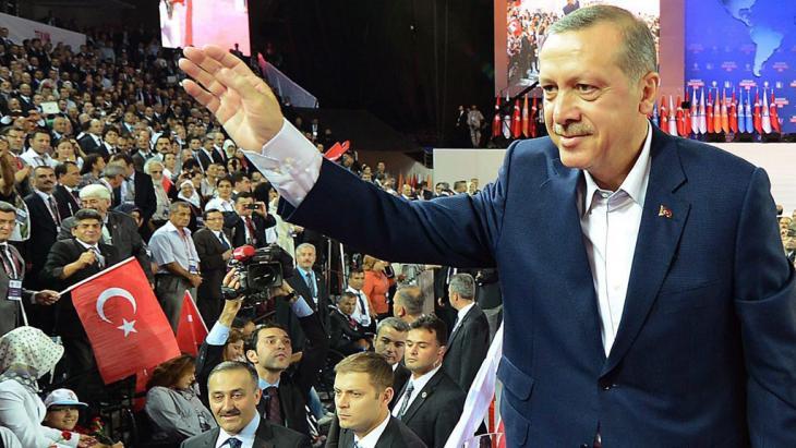 The Turkish Prime Minister Erdogan (photo: dpa/picture-alliance)