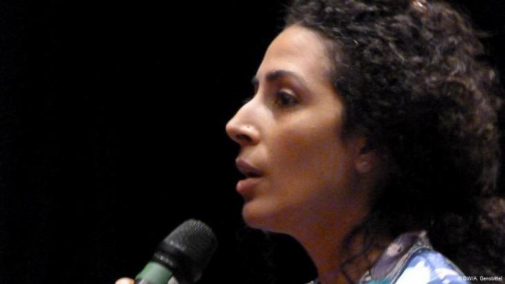 Mona El-Naggar (photo: DW/A. Gensbittel)
