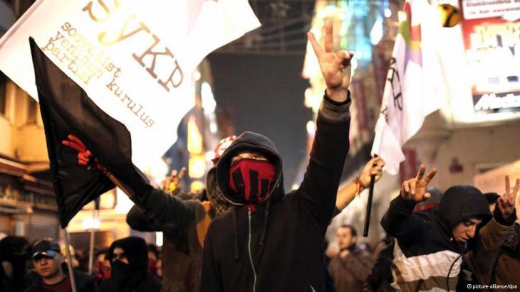 Gezi Park protestors (photo: picture-alliance/dpa)