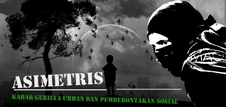 Clipping from an Indonesian anarchist website (source: http://asimetris.noblogs.org)