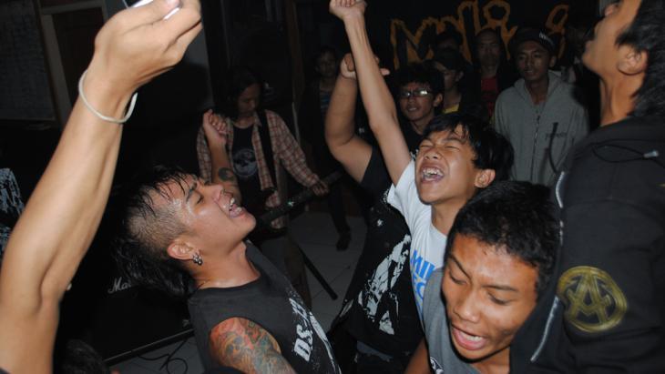 Milisi Kecoa in Bandung/Java (photo: DW/ D.Ossami)