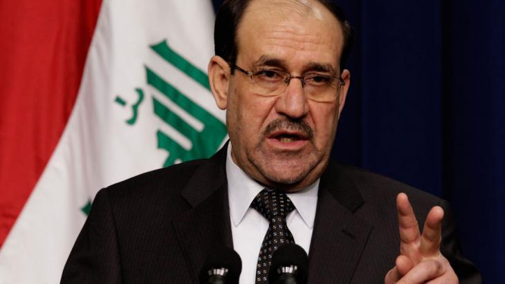 Iraks Ministerpräsident Nuri al-Maliki; Foto: Getty Images