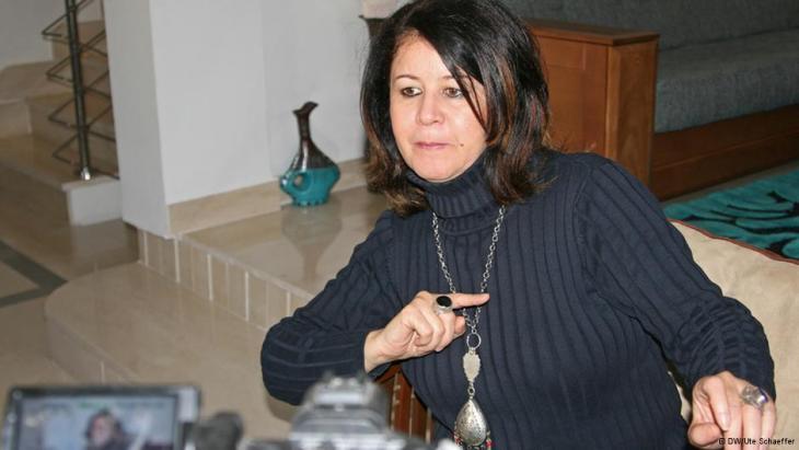 Amel Grami (photo: DW/Ute Schaeffer)
