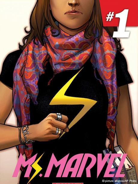 Superheroine Kamala Khan aka Ms Marvel (photo: picture-alliance/AP Photo)