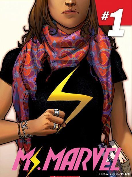 Superheroine Kamala Khan aka Ms Marvel (photo: picture-alliance/AP Photo)