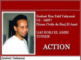 Zouhair Yahyaoui (screenshot from the website www.TuneZine.com)