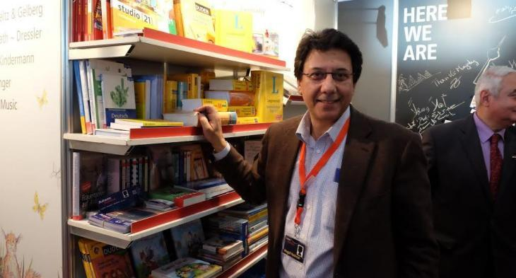 Publisher Magdi Radwan (photo: Amira El Ahl)