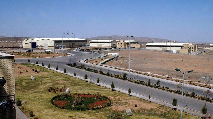 The Iranian Fuel Enrichment Plant Natanz (photo: picture-alliance/dpa)