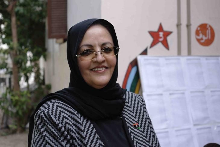Asma Al-Usta (photo: Valerie Stocker)
