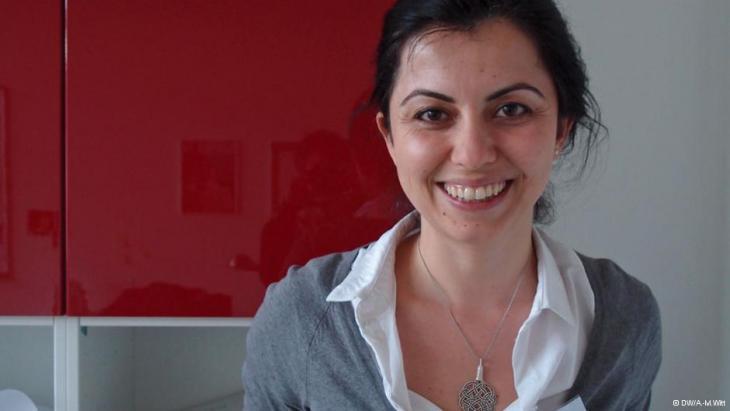 Cigdem Bozdag of Sabanci University in Istanbul (photo: DW/Anke Martina Witt)