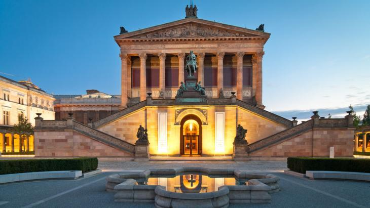 The Alte Nationalgalerie in Berlin (photo: Fotolia/mkrberlin)